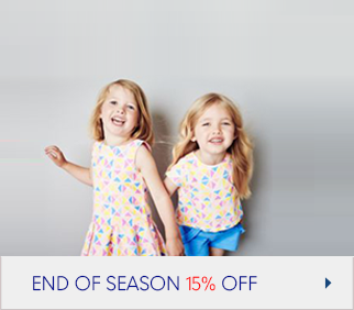 End of Season Offer, 15% Off